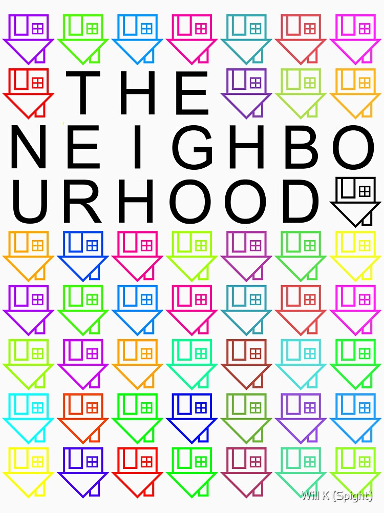The Colourful Neighbourhood | Unisex T-Shirt