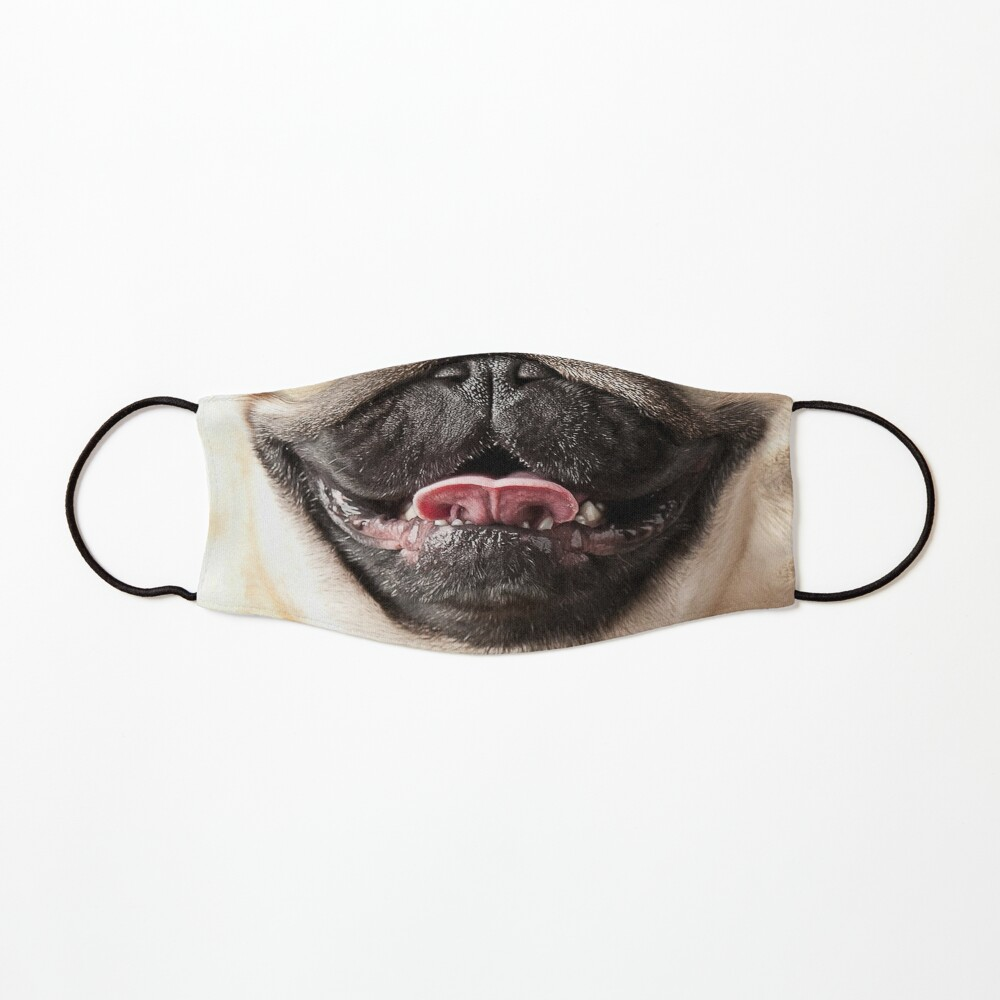 Pug Nose and Mouth ~ Cute and Funny Animal Medical Face Masks ~ 13 Mask