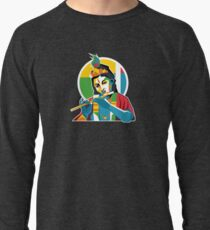 Lord Krishna - Hindu God - Geometric Avatar Lightweight Sweatshirt