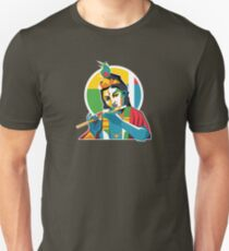 Lord Krishna - Hindu God - Geometric Avatar Unisex T-Shirt