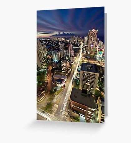 Gold Coast Highway Greeting Card