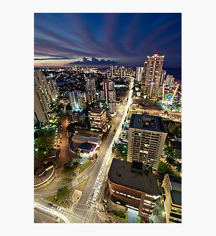 Gold Coast Highway Photographic Print