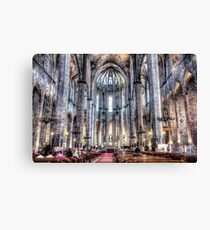 Cathedral of the Sea Canvas Print