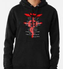 Fullmetal Heart Red Pullover Hoodie