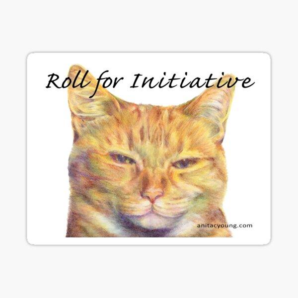 Initiative Cat Sticker