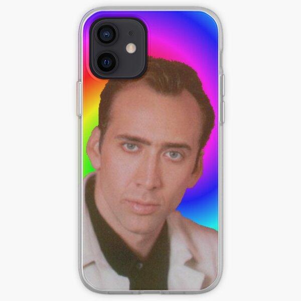 Nicolas Cage's Mind iPhone Soft Case