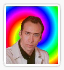 Nicolas Cage's Mind Sticker