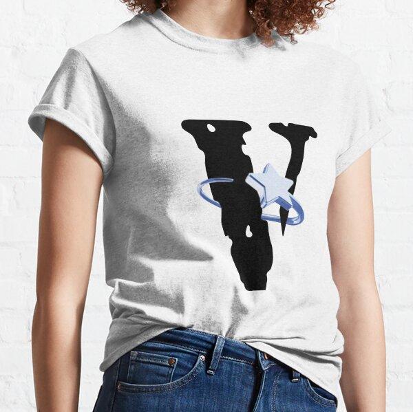 VLONE X POP SMOKE HALO WHITE T-shirt classique