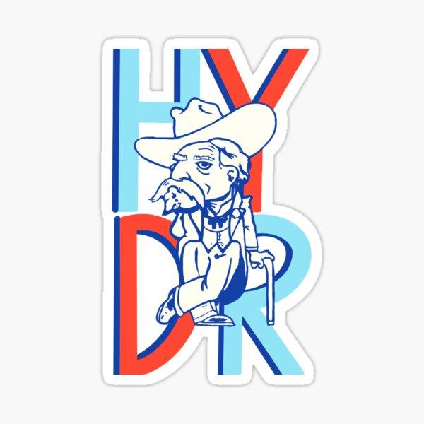 Hell Yeah Damn Right Sticker