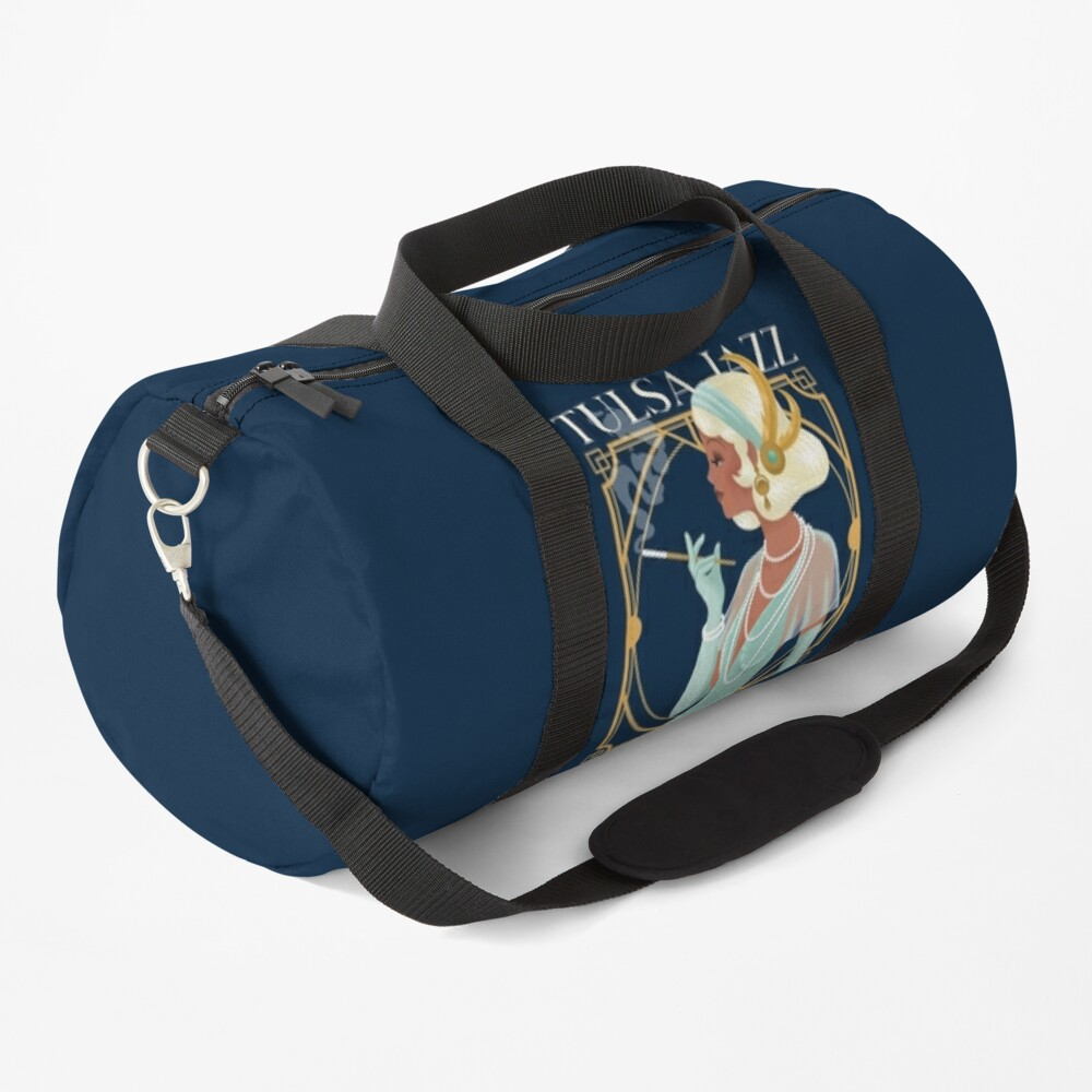 TulsaJazz.Com's The Vintage Anniversary Collection Duffle Bag