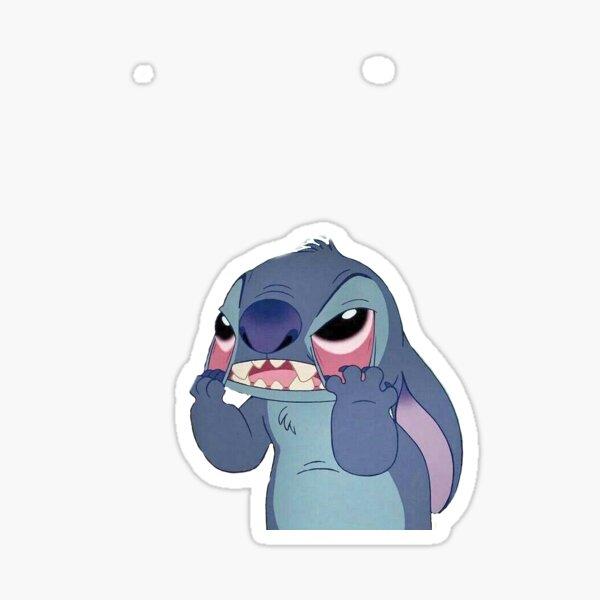 Stitch Mood Pegatina