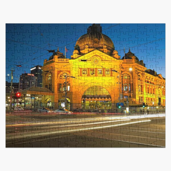 Flinders Street Station Jigsaw Puzzle