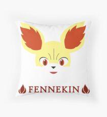 Fennekin - Pokemon X & Y Throw Pillow