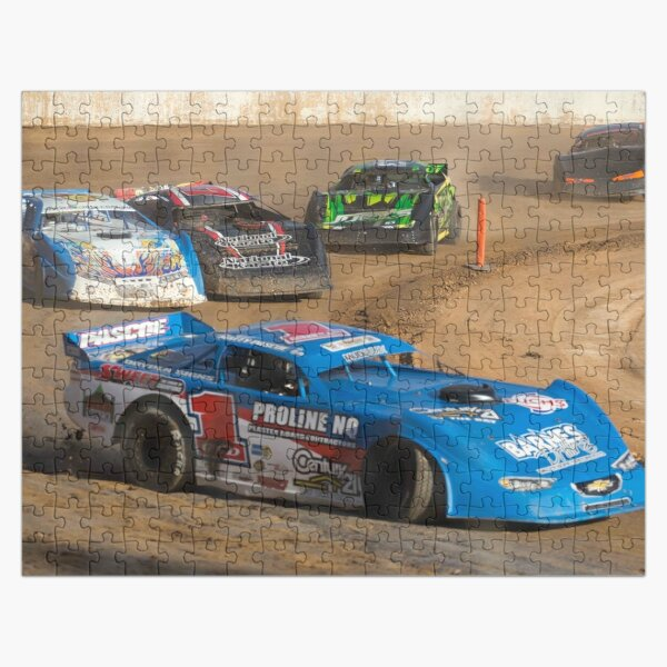 Speedway action Jigsaw Puzzle