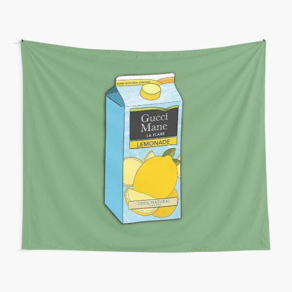 Gucci Mane Lemonade Minute Maid Ilustración Tela decorativa