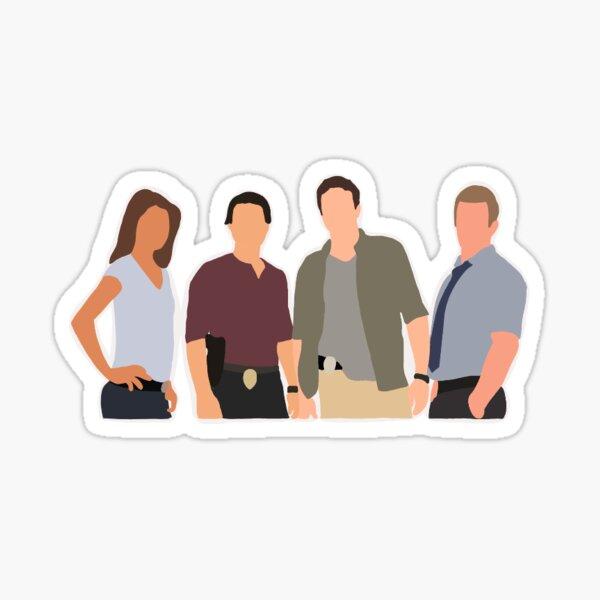 Hawaii Five-O original cast Sticker