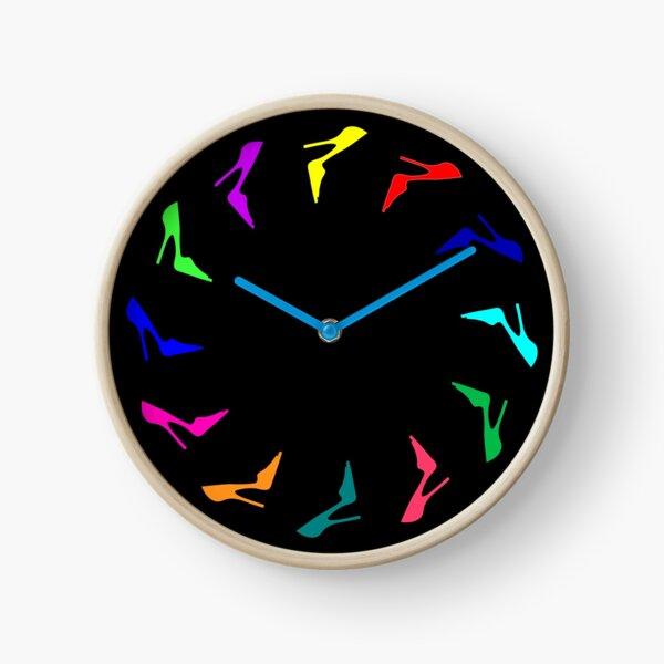 12 Stilettos Clock