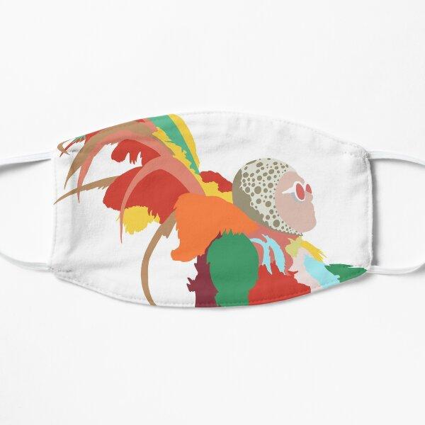 Elton John Feather Outfits Flat Mask