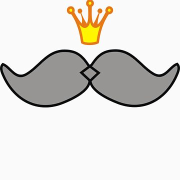 Royal Moustache by ivanaantolovic