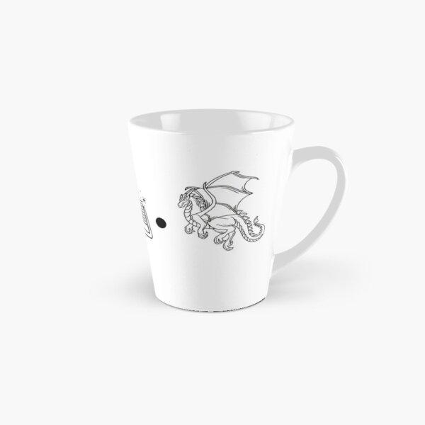 Coffee, Books, & Dragons Icons Tall Mug