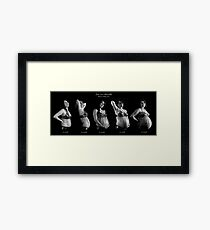 Zoe with Chevelle Framed Print