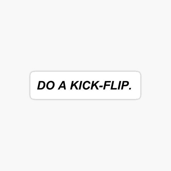 kick-flip Sticker