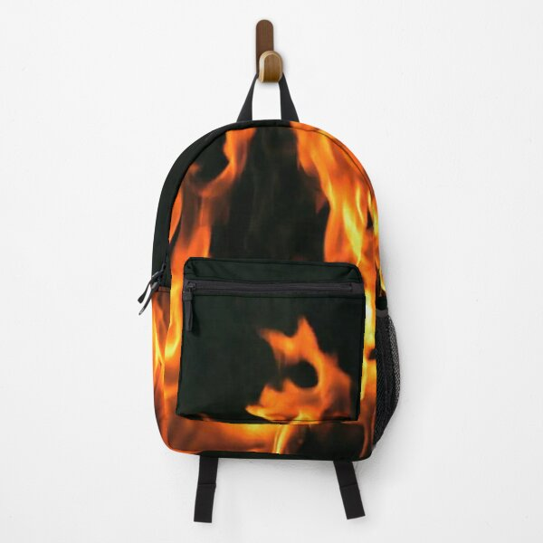 #Flame, #Forks of flame, #Spurts of flame, #fire, light, flames Backpack