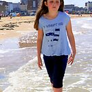Walking on the sand by myworld