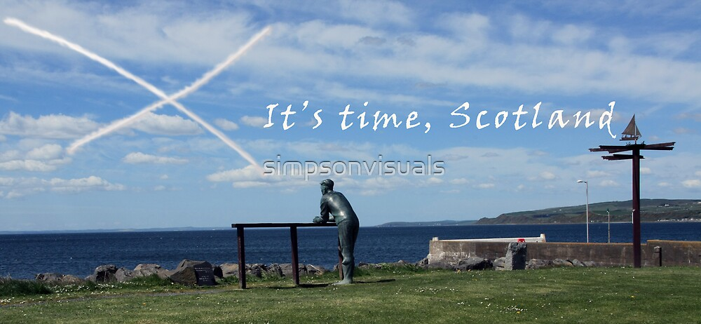 It's Time Scotland in Port William and Everywhere by simpsonvisuals