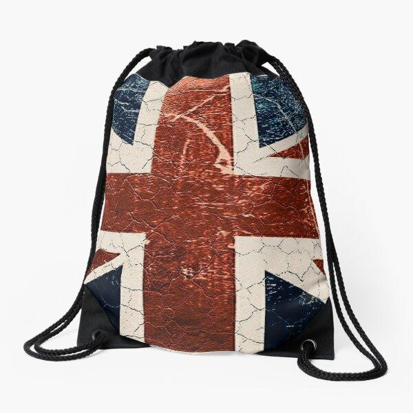 rul Britannia / English flag, Drawstring Bag