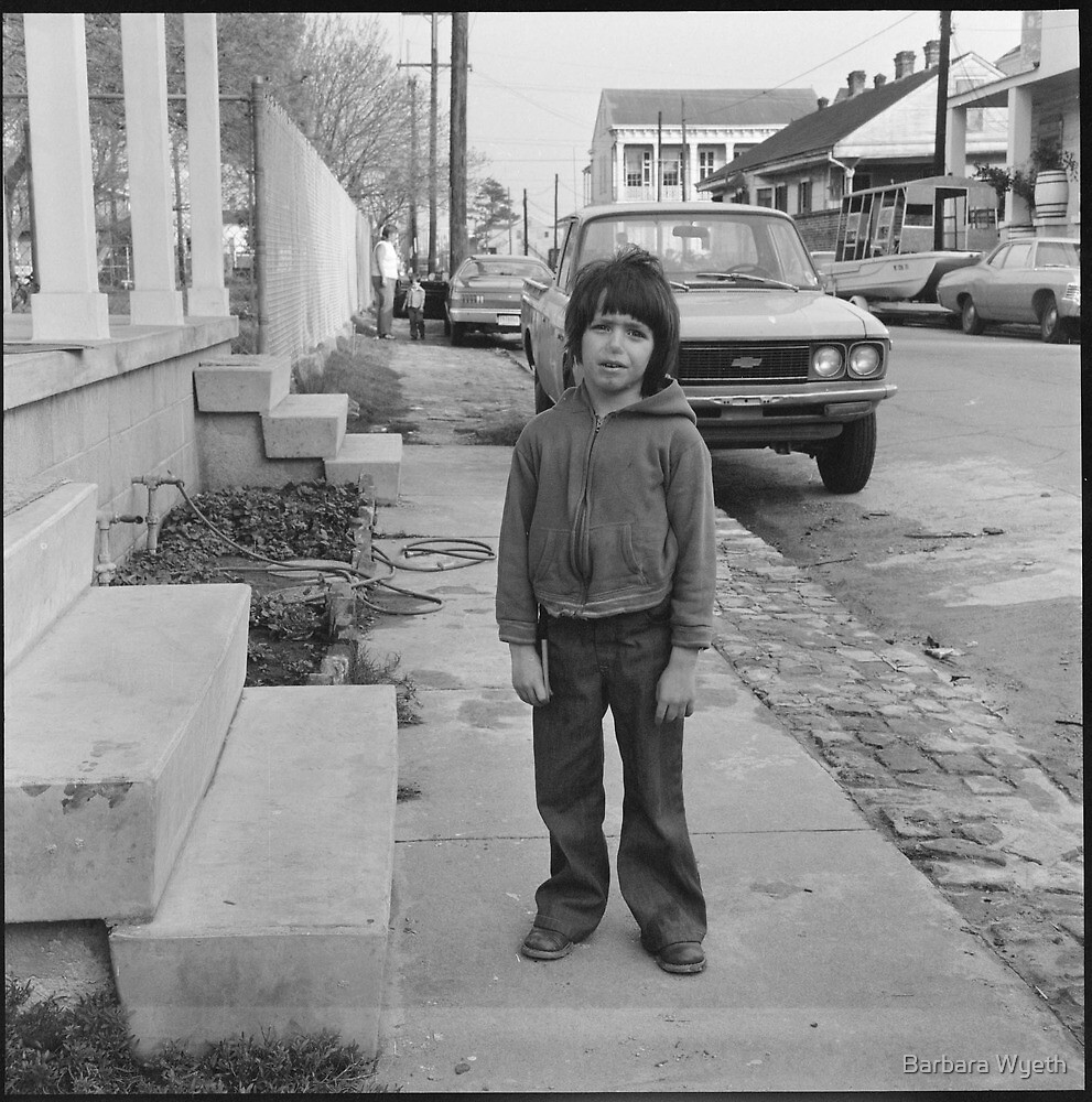 Boy, New Orleans, 1975 by Barbara Wyeth