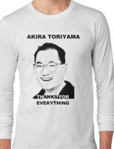 Akira Toriyama -Praise Design Long Sleeve T-Shirt