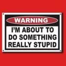 Stupid Warning by AdeGee