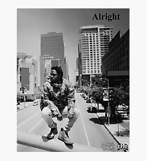 Kendrick Lamar - Alright (Music Video) Photographic Print
