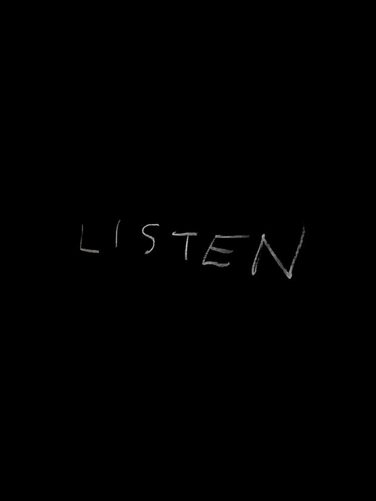 Listen by ponderingtaylor