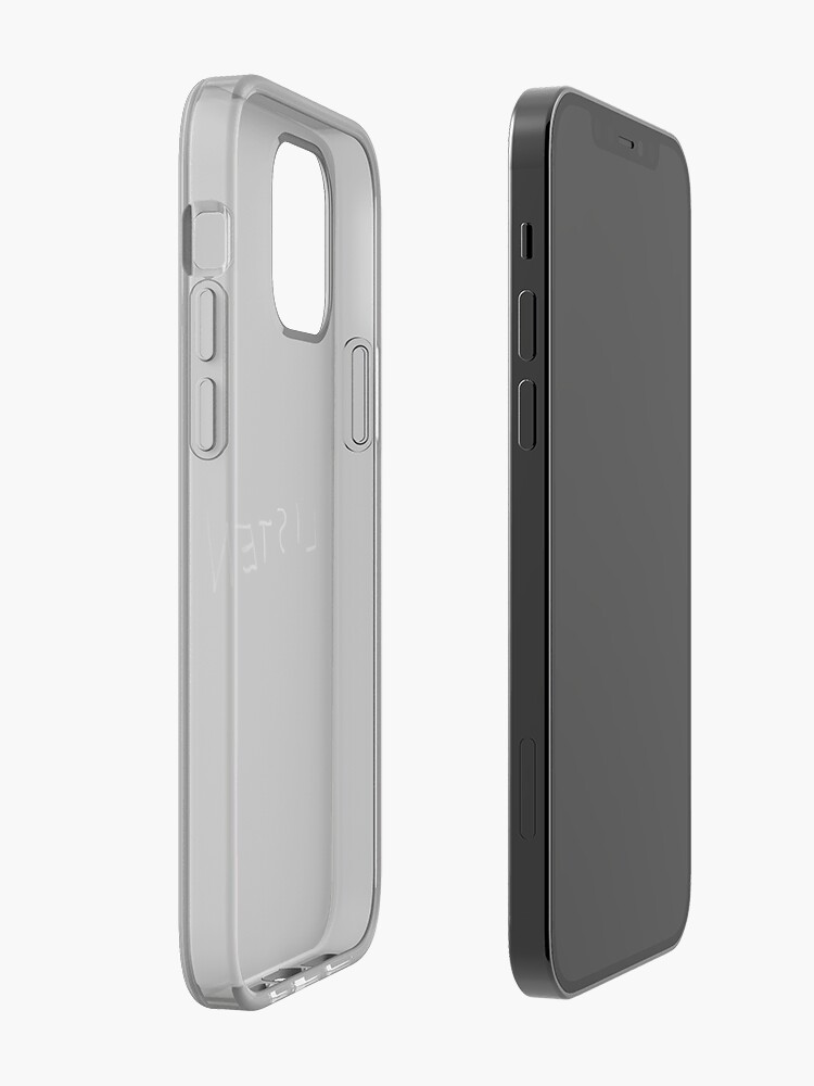 Alternate view of Listen iPhone Case & Cover