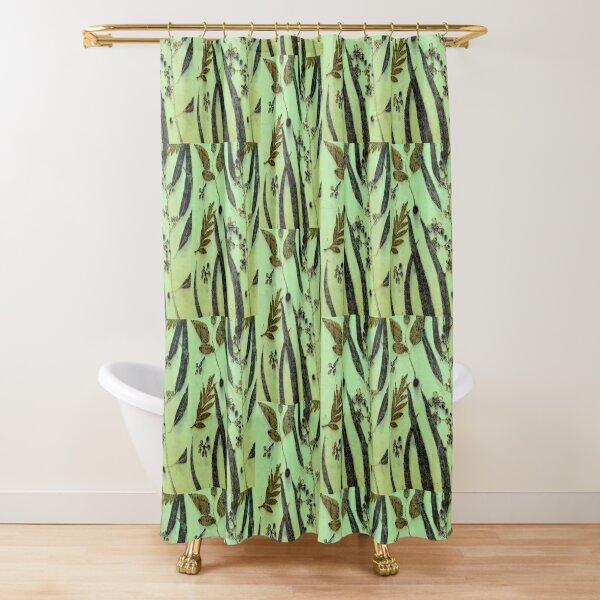 Green Eucalyptus Shower Curtain