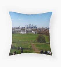 Greenwich, UK Throw Pillow