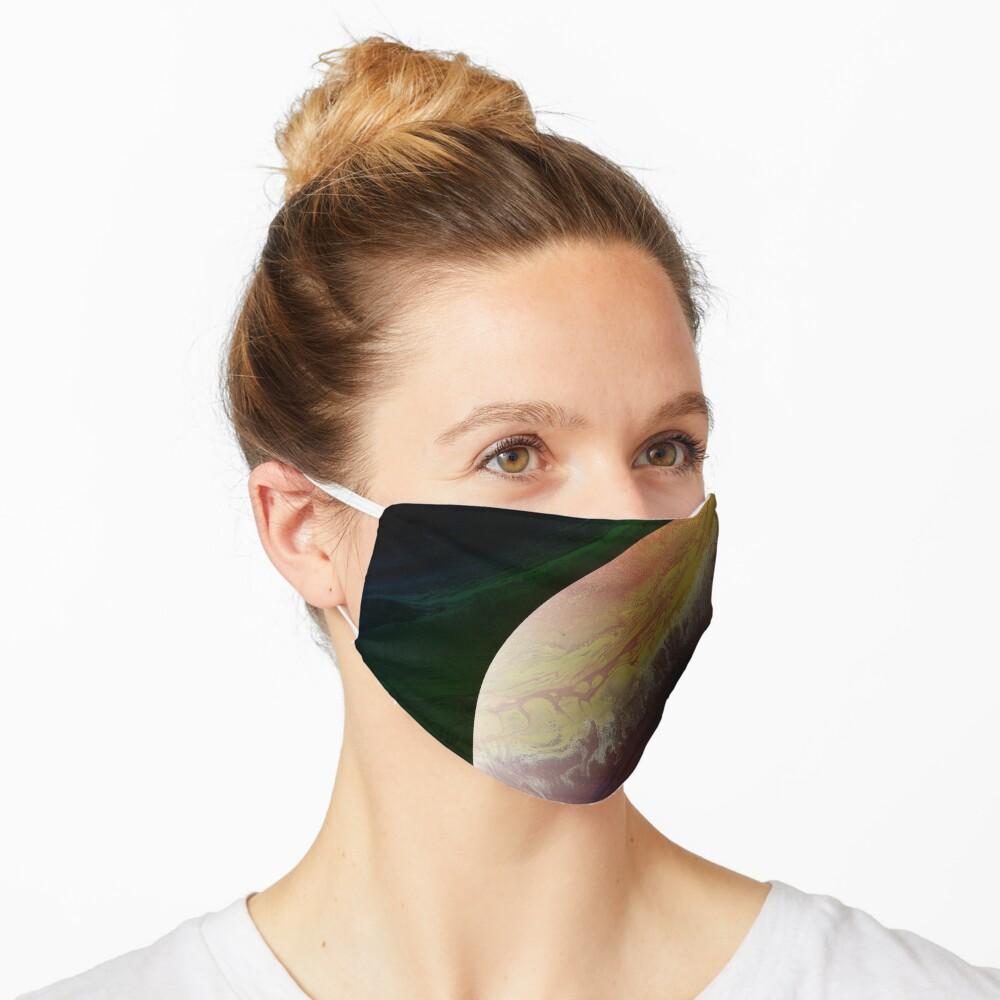 Axial Tilt: planet art Mask
