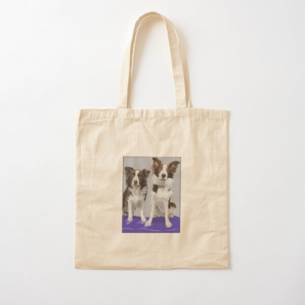 Double Trouble  Cotton Tote Bag