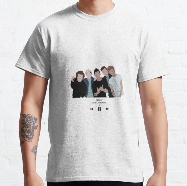One Direction - History Song Classic T-Shirt