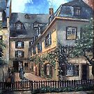 VAN BEETHOVENS HOUSE BONN (Germany) by Günter Maria  Knauth