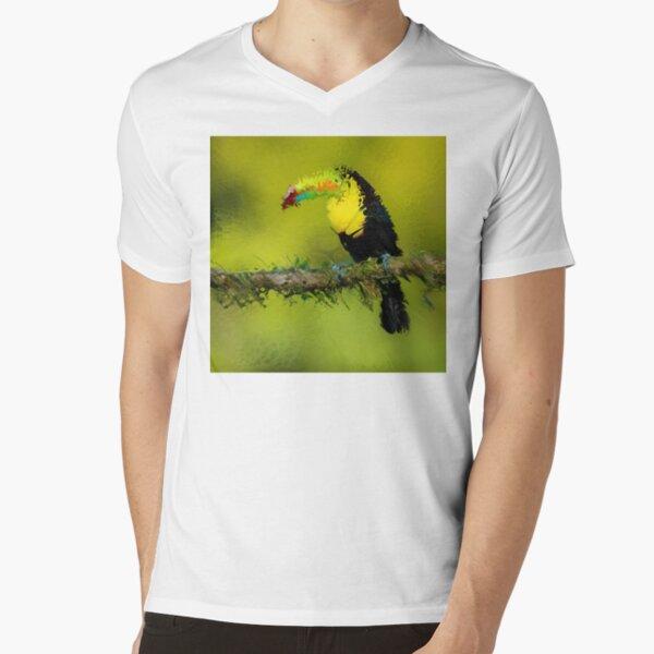 Fractured Spring 5 V-Neck T-Shirt