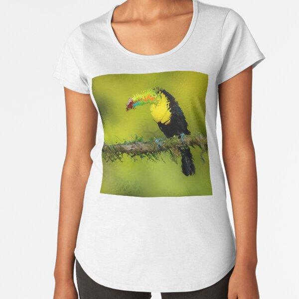 Fractured Spring 5 Premium Scoop T-Shirt