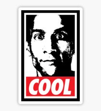 OBEY ABED, COOL? (variant) Sticker