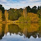 Lake Daylesford in Autumn Victoria Australia by PhotoJoJo