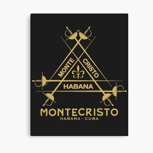 MonteCristo Habana Cuba Top Brand Cigar Logo Canvas Print
