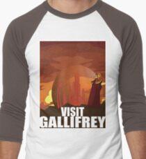 Visit Gallifrey Men's Baseball ¾ T-Shirt