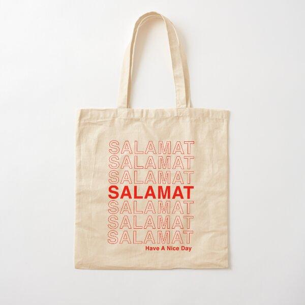 Salamat Have a Nice Day - Filipino Tagalog Thank You Cotton Tote Bag
