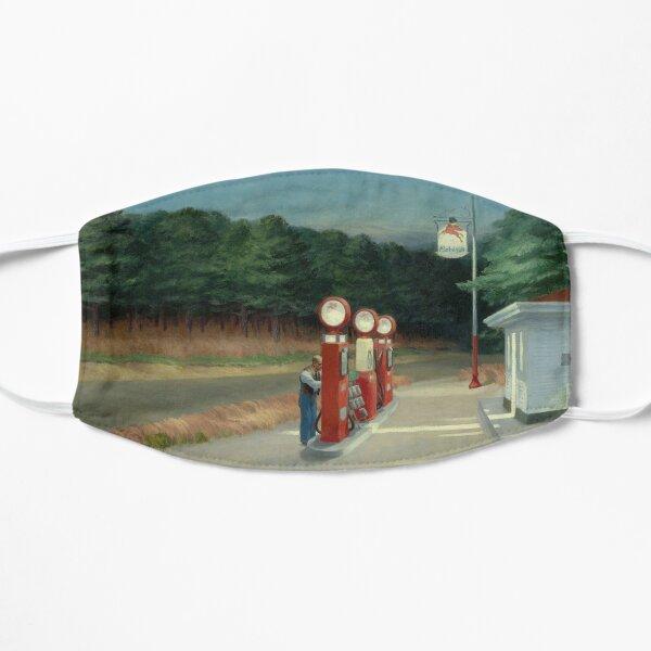 Gas - Edward Hopper (1940) Mask